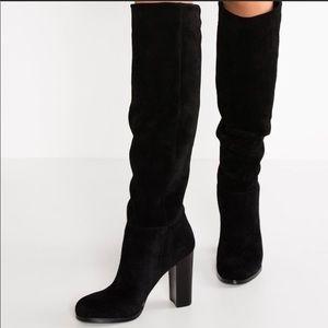 e9b3901cc Sam Edelman Shoes - Sam Edelman Victoria tall black suede boots